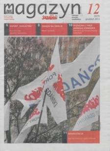 """Magazyn """"Solidarność"""", 2013, nr 12"""