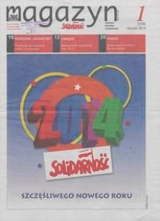 """Magazyn """"Solidarność"""", 2014, nr 1"""