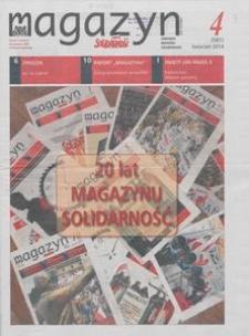 """Magazyn """"Solidarność"""", 2014, nr 4"""