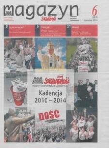 """Magazyn """"Solidarność"""", 2014, nr 6"""