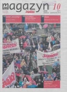 """Magazyn """"Solidarność"""", 2014, nr 10"""