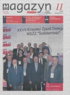 """Magazyn """"Solidarność"""", 2014, nr 11"""