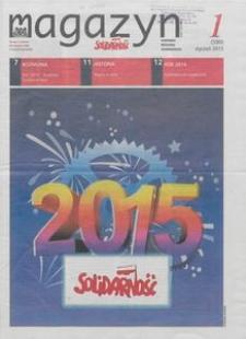 """Magazyn """"Solidarność"""", 2015, nr 1"""
