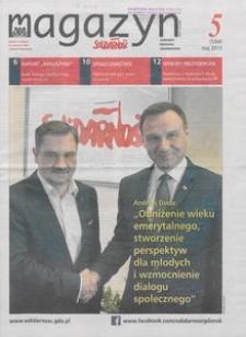 """Magazyn """"Solidarność"""", 2015, nr 5"""