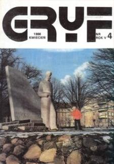 Gryf 1986, kwiecień