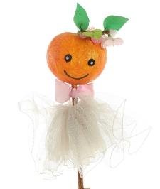 Lalka owocowa (jabłko) 2
