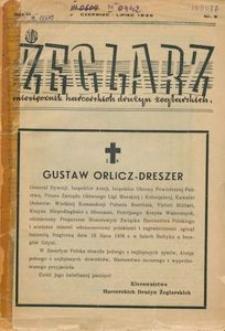 Żeglarz : miesięcznik harcerskich drużyn żeglarskich, 1936, nr 6