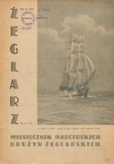 Żeglarz : miesięcznik harcerskich drużyn żeglarskich, 1937, nr 6,7,8