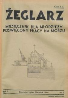 Żeglarz : miesięcznik dla młodzieży poświęcony pracy na morzu, 1946, nr 2