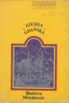 Ziemia Gdańska Biuletyn Metodyczny, 1989, nr153-154