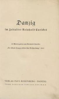 Danzig im Zeitalter Reinhold Curickes