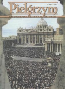 Pielgrzym : Pismo Katolickie, 1998, R. IX, nr 21 (231)