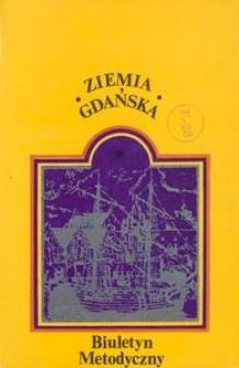 Biuletyn Metodyczny Ziemia Gdańska, 1979, nr 128