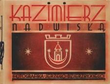 Kazimierz nad Wisłą : serja pierwsza