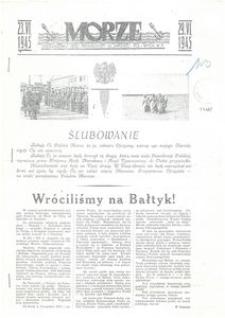 Morze : jednodniówka Oddz. Propagandy Gł. Zarządu Pol.-Wych. W.P. : 23-29.VI.1945