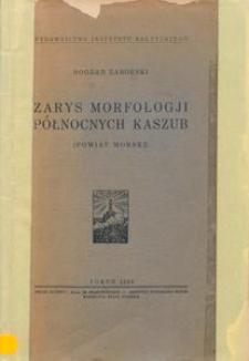 Zarys morfologji północnych Kaszub