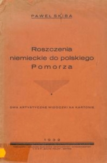 Roszczenia niemieckie do polskiego Pomorza