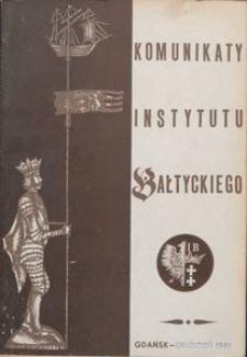 Komunikaty Instytutu Bałtyckiego, z.5