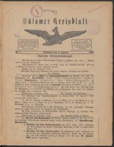 Bütower Kreisblatt 1905