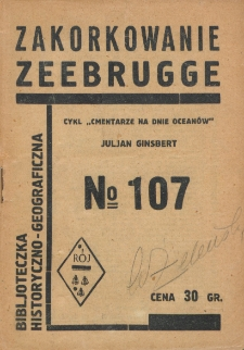 Zakorkowanie Zeebrugge