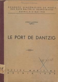 Le port de Dantzig