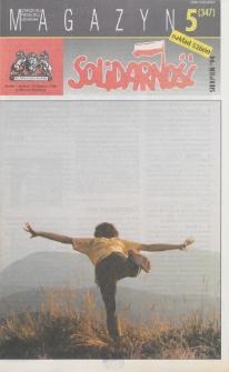 """Magazyn """"Solidarność"""", 1994, nr 5"""
