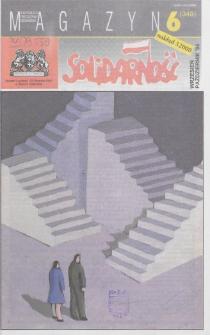 """Magazyn """"Solidarność"""", 1994, nr 6"""