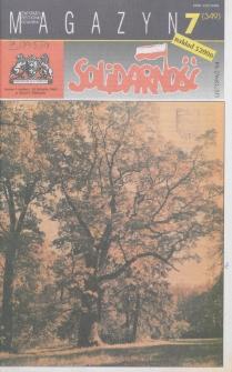"""Magazyn """"Solidarność"""", 1994, nr 7"""