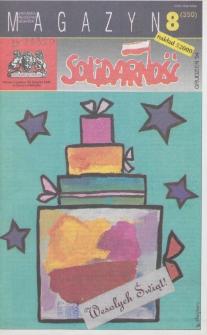 """Magazyn """"Solidarność"""", 1994, nr 8"""
