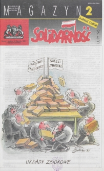 """Magazyn """"Solidarność"""", 1995, nr 2"""