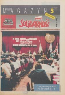 """Magazyn """"Solidarność"""", 1995, nr 5"""