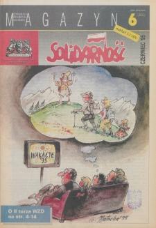 """Magazyn """"Solidarność"""", 1995, nr 6"""