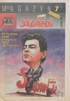 """Magazyn """"Solidarność"""", 1995, nr 7"""