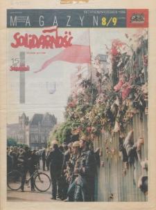 """Magazyn """"Solidarność"""", 1995, nr 8/9"""