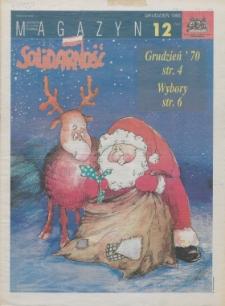 """Magazyn """"Solidarność"""", 1995, nr 12"""