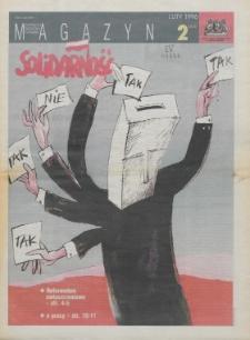 """Magazyn """"Solidarność"""", 1996, nr 2"""