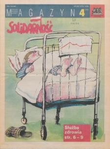 """Magazyn """"Solidarność"""", 1996, nr 4"""