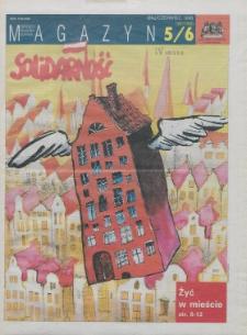 """Magazyn """"Solidarność"""", 1996, nr 5/6"""
