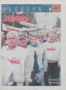 """Magazyn """"Solidarność"""", 1996, nr 9"""