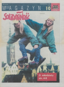 """Magazyn """"Solidarność"""", 1996, nr 10"""