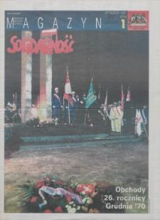 """Magazyn """"Solidarność"""", 1997, nr 1"""