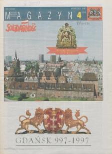 """Magazyn """"Solidarność"""", 1997, nr 4"""
