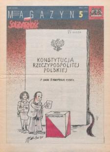 """Magazyn """"Solidarność"""", 1997, nr 5"""
