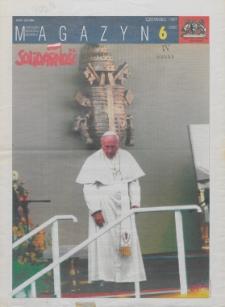 """Magazyn """"Solidarność"""", 1997, nr 6"""