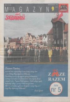 """Magazyn """"Solidarność"""", 1997, nr 9"""