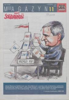 """Magazyn """"Solidarność"""", 1997, nr 11"""