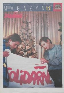 """Magazyn """"Solidarność"""", 1997, nr 12"""