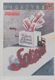"""Magazyn """"Solidarność"""", 1998, nr 2"""