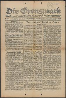 Die Grenzmark. Flatower und Schlochauer Kreiszeitung, 1921, Nr. 223