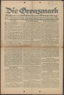 Die Grenzmark. Flatower und Schlochauer Kreiszeitung, 1921, Nr. 224